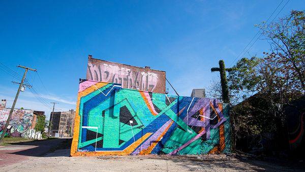 Mural by Tead.