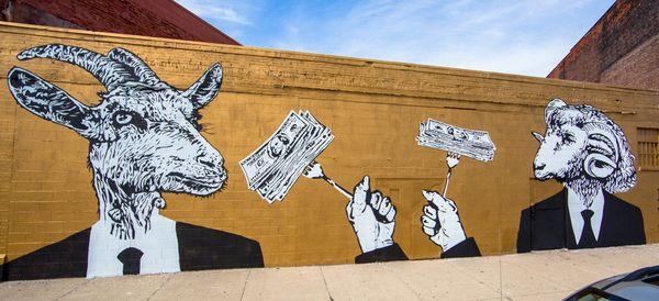 Mural byHygienic Dress League.