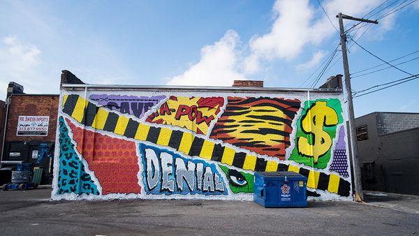 Mural by Denial.