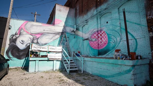 Mural by&nbsp;Michelle Tanguay.<br><br>