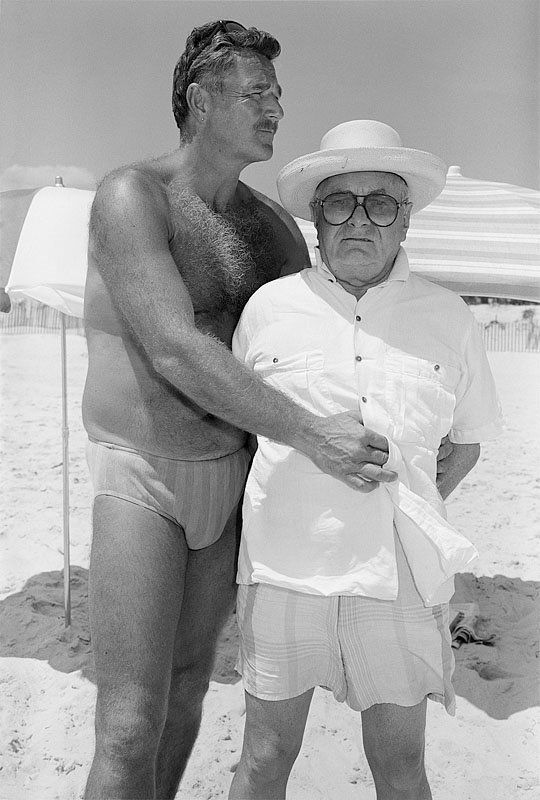 "<strong>Andrew and Patrick, Fire Island, New York, July 1988 </strong><br><br>""What attracts me to Patrick? When I saw Patric"