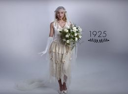WATCH: 100 Years Of Wedding Dresses