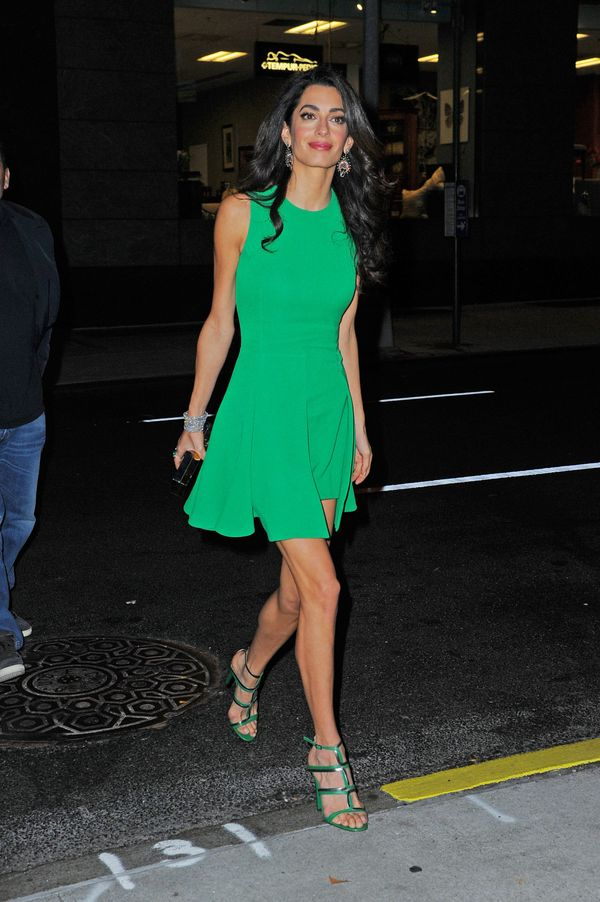 <strong>Amal Clooney in Versace:</strong> Well, we'll be damned. We didn't think the human rights lawyer could look any