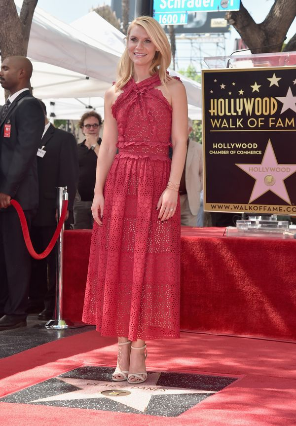 <strong>Claire Danes in Oscar de la Renta:</strong> When Danes gets it right, it's so right. The ruffles, the eyelet and