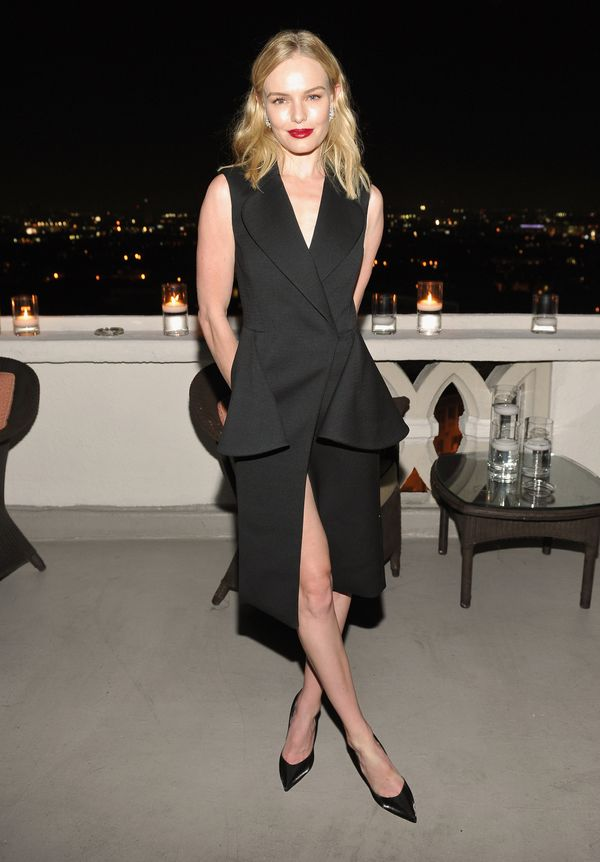 <strong>Kate Bosworth in Christian Dior:</strong> It looks like the actress just made us fall in love with the tuxedo dress a