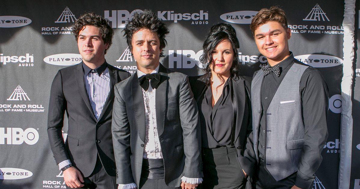 Billie Joe Armstrong Wife And Kids 2015
