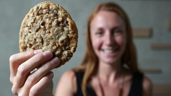 TORONTO, ON - JULY 18:  Momofuku launches milk bar - the baked goods portion of the restaurant empire that will bring the compost cookie and crack pie to this city  in Toronto.        (Steve Russell/Toronto Star via Getty Images)