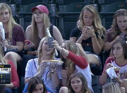 MLB Announcers Fail To Realize Taking Selfies With Friends Is Fun