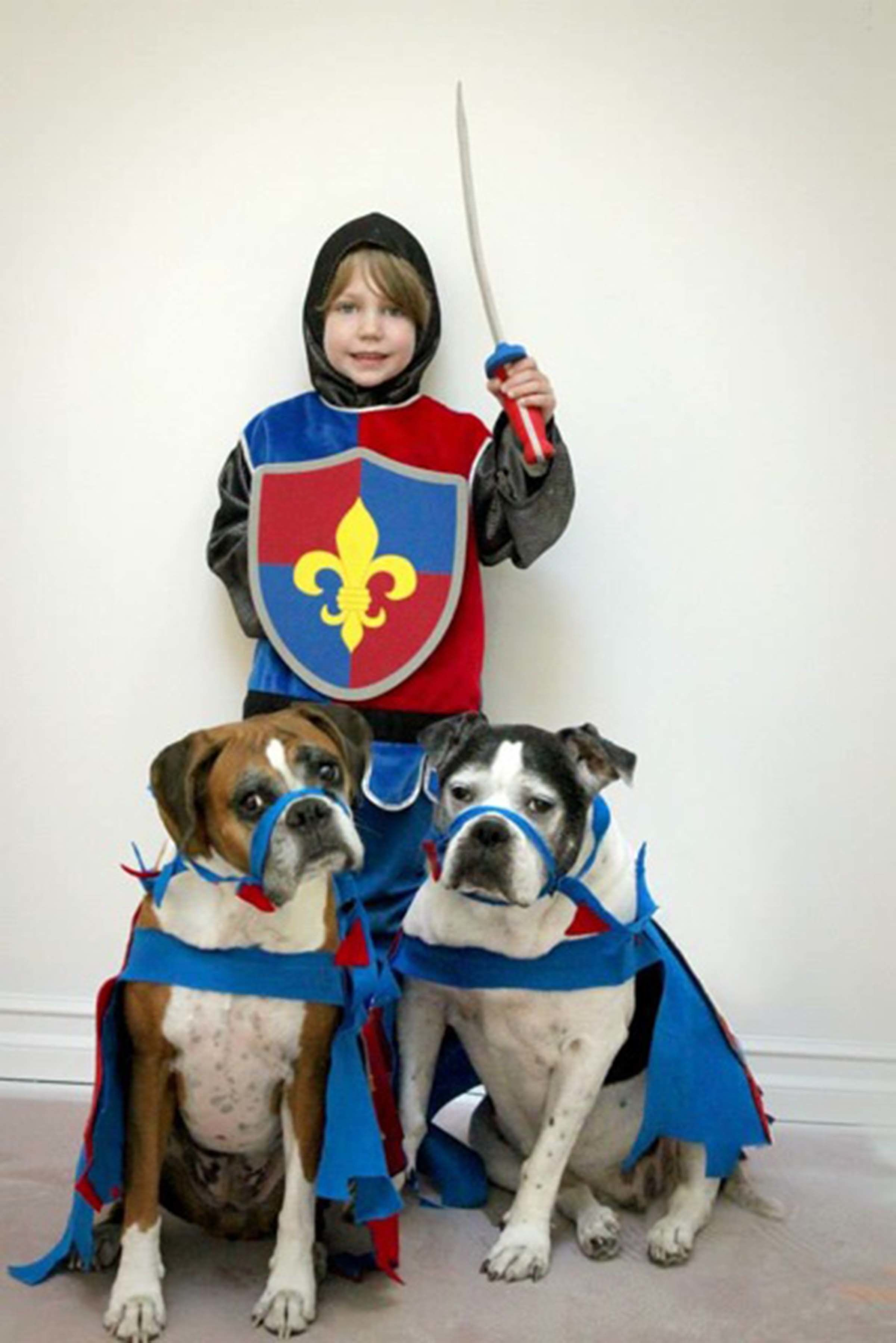 Courtesy ofu0026nbsp;Karen Miller  sc 1 st  HuffPost & 23 Dog And Kid Halloween Costumes That Will Make You Squeal | HuffPost
