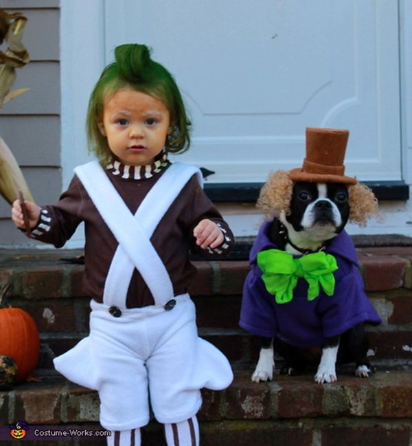 23 dog and kid halloween costumes that will make you squeal huffpost - Toddler And Baby Halloween Costume Ideas