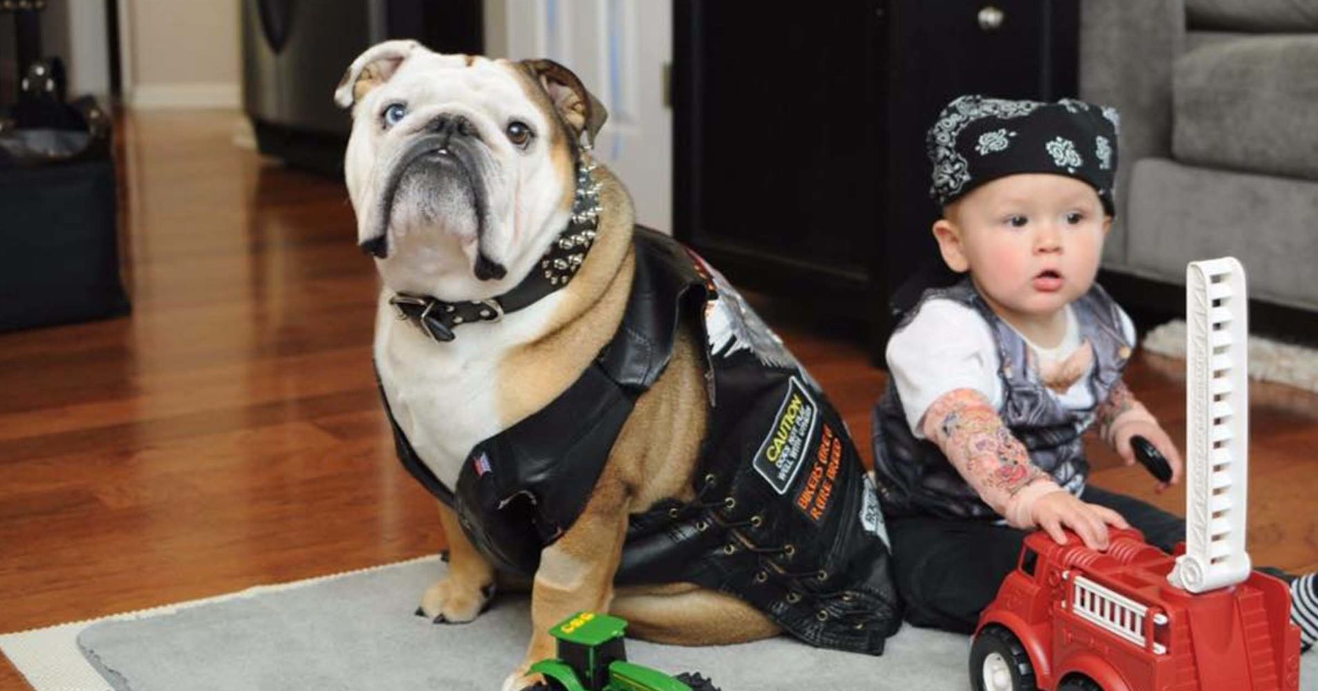 23 Dog And Kid Halloween Costumes That Will Make You Squeal