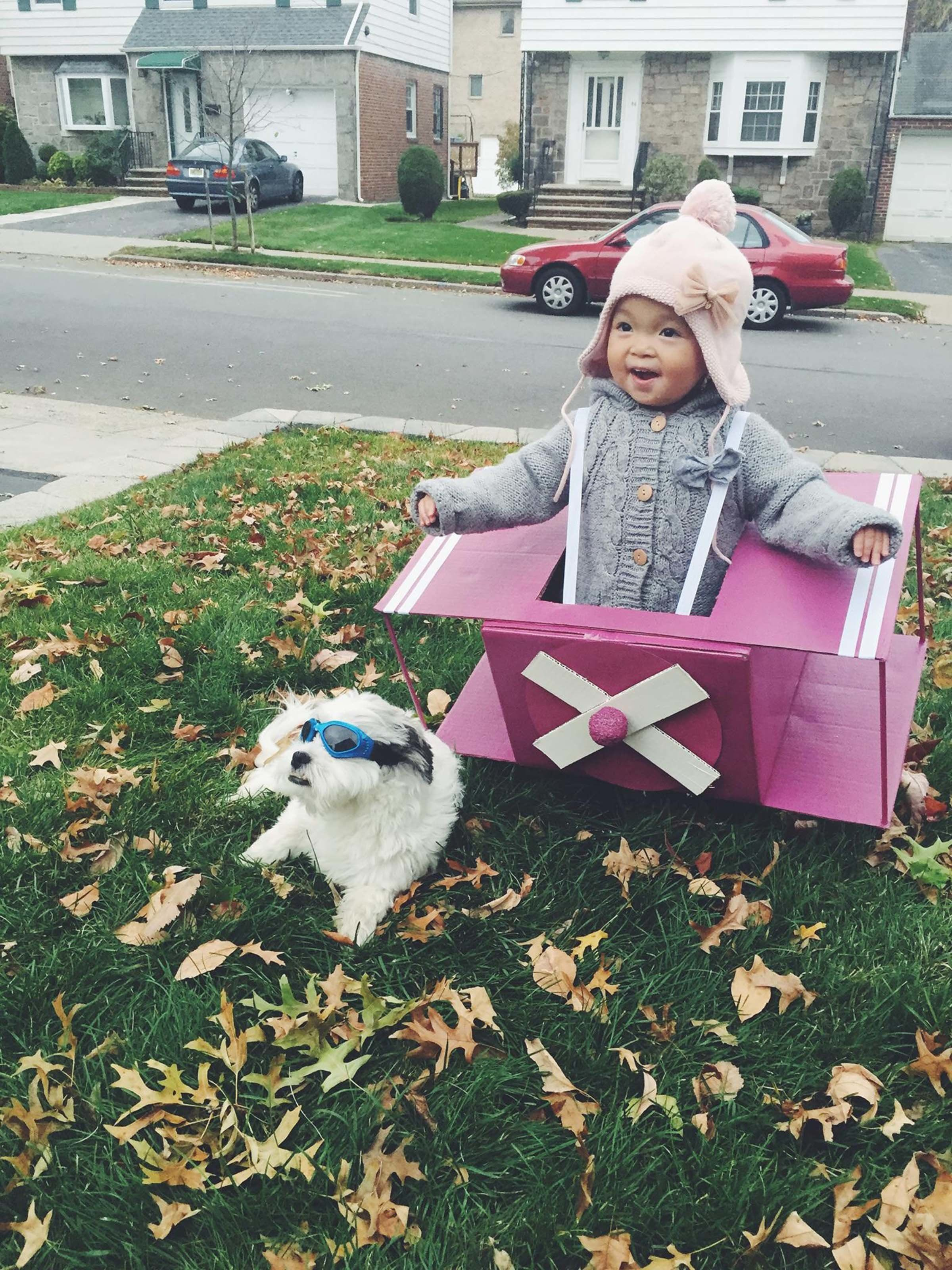 Courtesy of Stephanie Tsai Kim  sc 1 st  HuffPost & 23 Dog And Kid Halloween Costumes That Will Make You Squeal | HuffPost