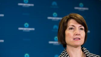 WASHINGTON, DC - JULY 28: Rep. Cathy McMorris Rodgers (R-WA) speaks during a press conference after a closed meeting with fellow Republicans, on Capitol Hill, July 28, 2015 in Washington, DC. The House plans to move on Wednesday to extend highway and transit programs for three months. (Drew Angerer/Getty Images)