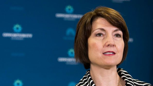 "<span class='image-component__caption' itemprop=""caption"">The audience at the Washington Ideas Forum booed Rep. Cathy McMorris Rodgers (R-Wash.) over the GOP's probe of a terrorist attack on the U.S. Consulate in Benghazi, Libya.</span>"