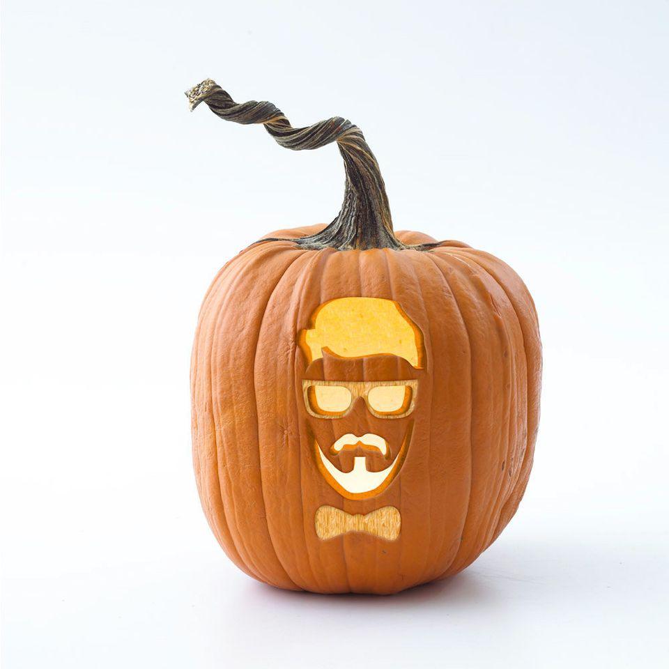 """<a href=""""http://www.bhg.com/halloween/pumpkin-carving/printable-pumpkin-stencils/hipster-pumpkin-stencils/"""">Download the hips"""