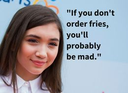 Rowan Blanchard Has Zero Time For Reporters Who Ask Girls About Dieting