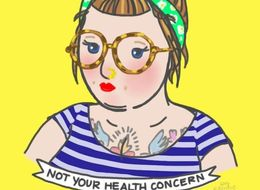 15 Charming Illustrations That Fight Fatphobia With Doodles And Flowers