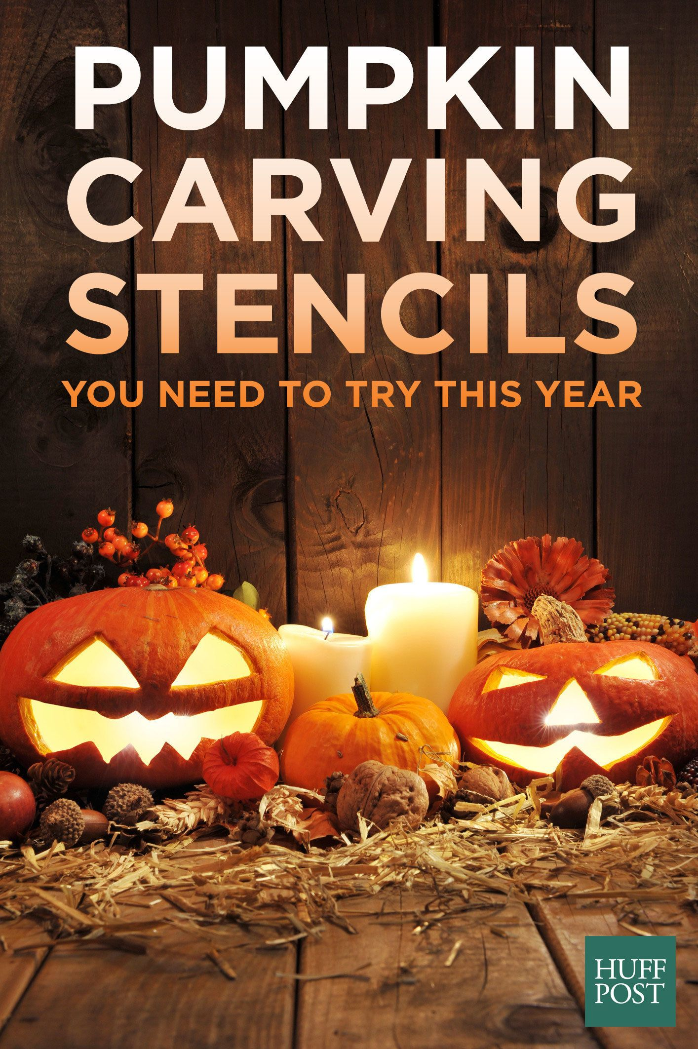 The free pumpkin carving stencils you need to try this year