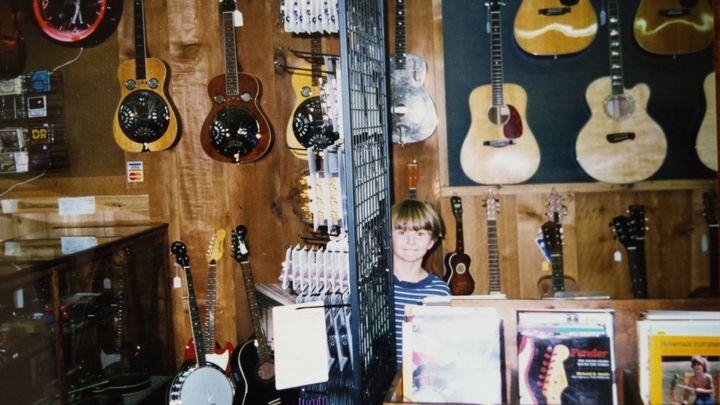 A childhood photo of Joshua Maddux.