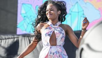 INDIO, CA - APRIL 17:  Rapper Azealia Banks performs during the Coachella Valley Music and Arts Festival at The Empire Polo Club on April 17, 2015 in Indio, California.  (Photo by Chelsea Lauren/WireImage)
