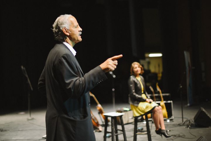 Stedman Graham on stage at the 2014 Live Sonima Tour