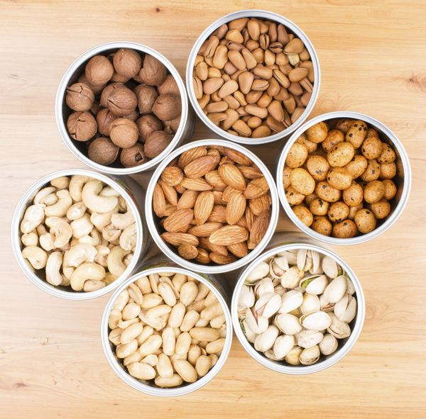 """Nuts are a vegan snack superstar. A recent study found that <a href=""""http://www.huffingtonpost.com/2015/06/12/nuts-health-lon"""