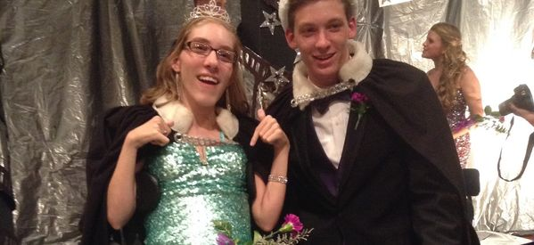 Awesome Spirited Teen With Cerebral Palsy Gets Voted Homecoming Queen