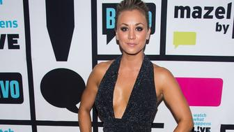 WATCH WHAT HAPPENS LIVE -- Pictured: Kaley Cuoco -- (Photo by: Charles Sykes/Bravo/NBCU Photo Bank via Getty Images)