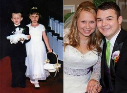 In A Twist Of Fate, Ring Bearer And Flower Girl Marry 17 Years Later