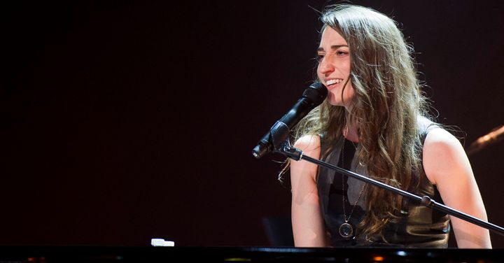 """Sara Bareilles told The Huffington Post the real story behind her hit, """"Love Song."""""""