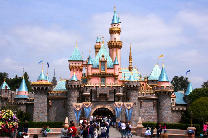 Sleeping Beauty Castle at Disneyland, where the price of an annual pass with no blackout dates has jumped to $1,049 from $779.