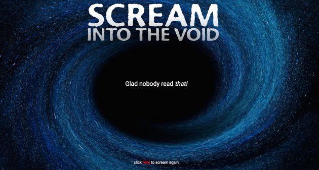Have Something Awful To Say? Scream Into The Void With John Oliver ...