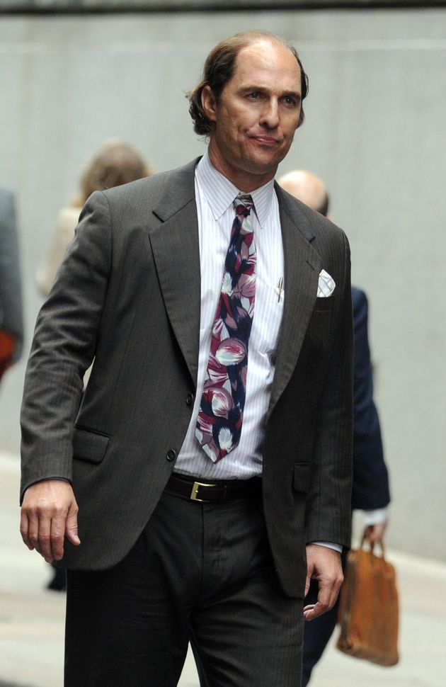 Matthew McConaughey Is Bald With A Beer Belly And Nearly Unrecognizable For New Movie