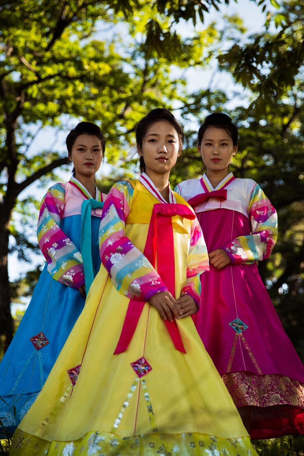 In Sinuiju, a city bordering China