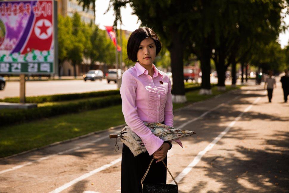 Student in Pyongyang
