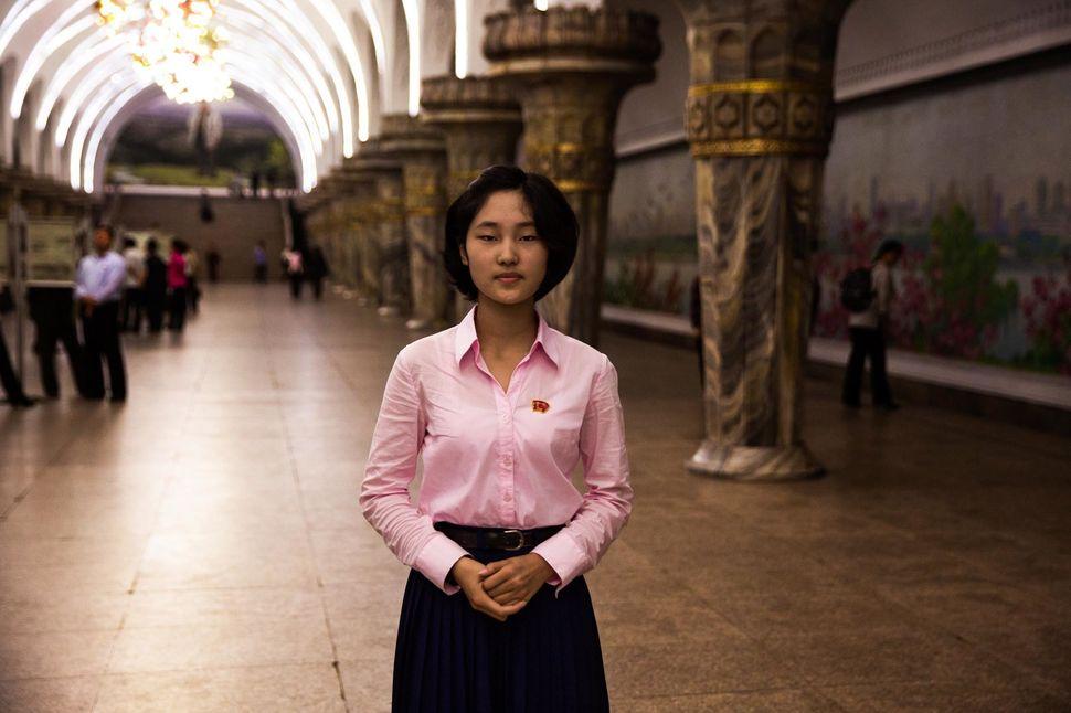 Subway station in Pyongyang