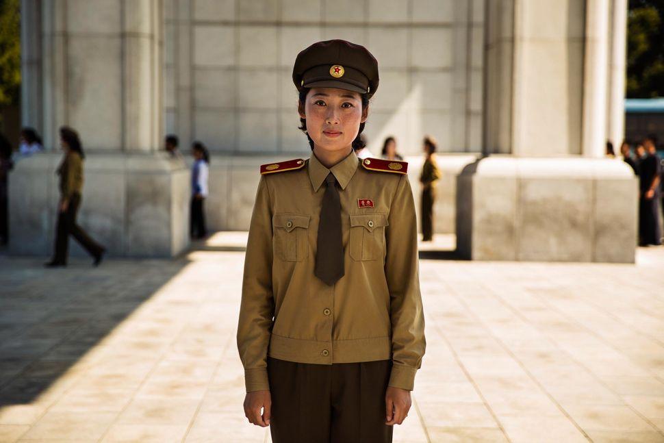 Uniforms are very common in North Korea