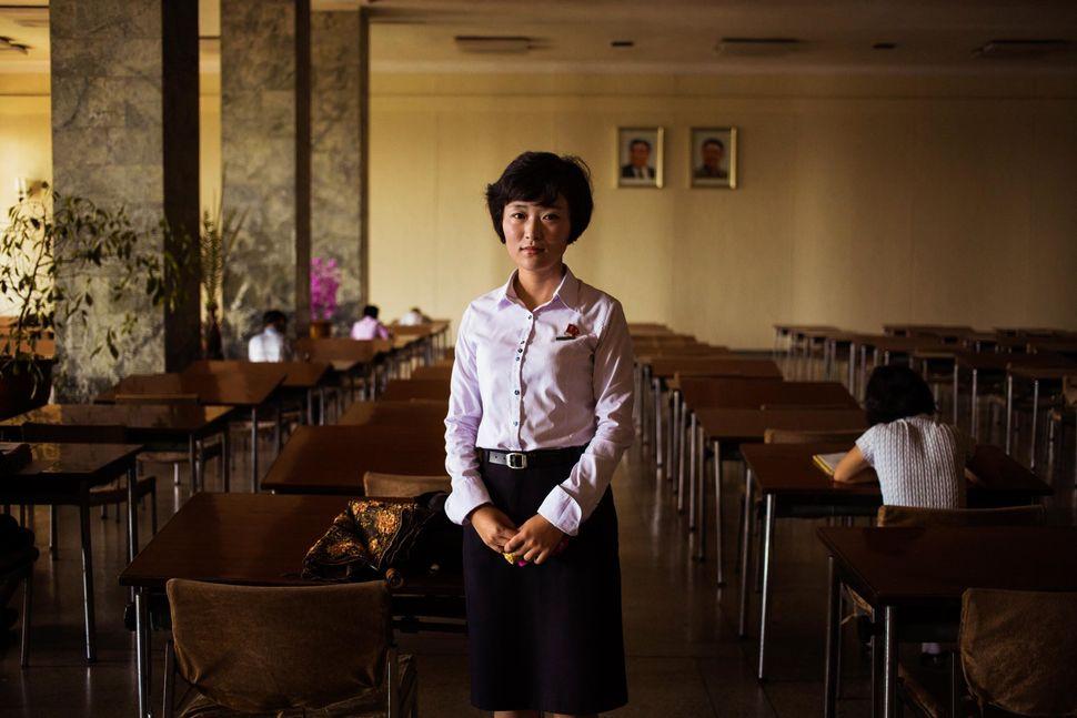 Library in Pyongyang
