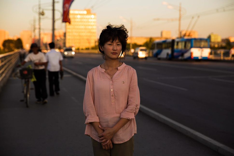 In Pyongyang, the capital of the country