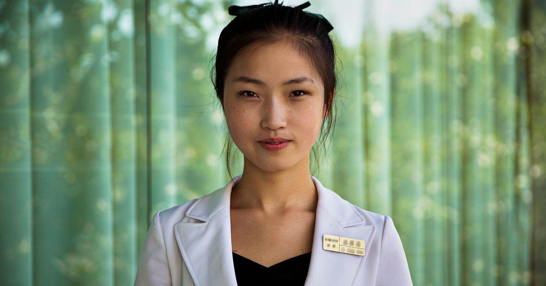 Beautiful North Korean Women Gallery. Girls of the Hermit