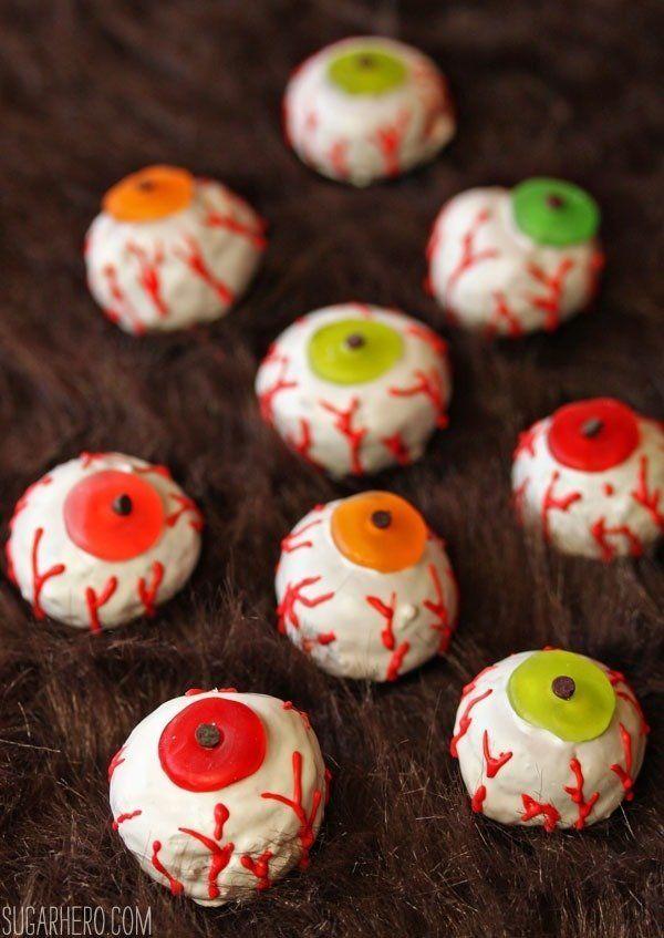 "<strong>Get the <a href=""http://sugarhero.com/doughnut-hole-monster-eyeballs/"" target=""_blank"">Doughnut Hole Monster Eyeballs"