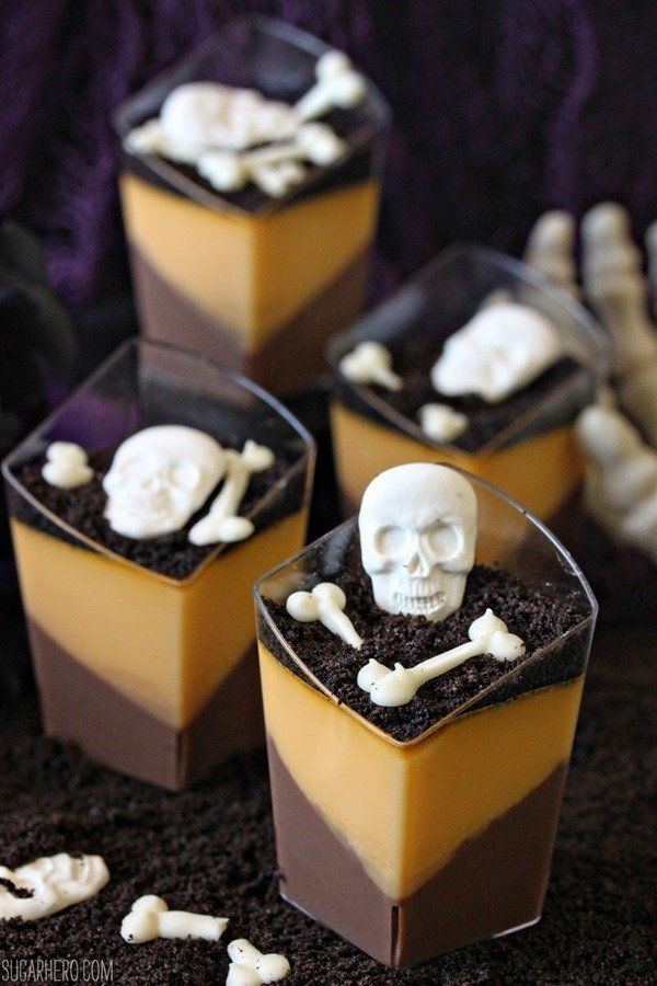 The creepiest scariest dessert recipes your halloween for Halloween desserts recipes with pictures
