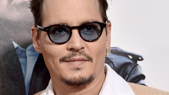 BOSTON, MA - SEPTEMBER 15:  Actor Johnny Depp attends the 'Black Mass' Boston special screening at the Coolidge Corner Theatre on September 15, 2015 in Boston, Massachusetts.  (Photo by Paul Marotta/Getty Images for Warner Brothers)
