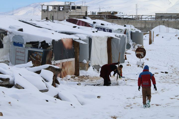 Temperatures are about to drop in Syria and neighboring countries. Blizzards covered camps in snow last winter.