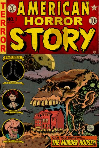 """American Horror Story Issue 1: Murder House"" by J.Q. Hammer"