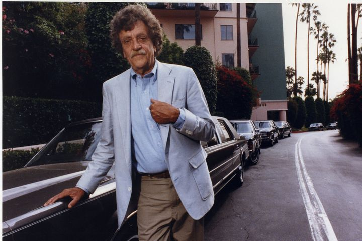 A 1990 file photo of author Kurt Vonnegut.