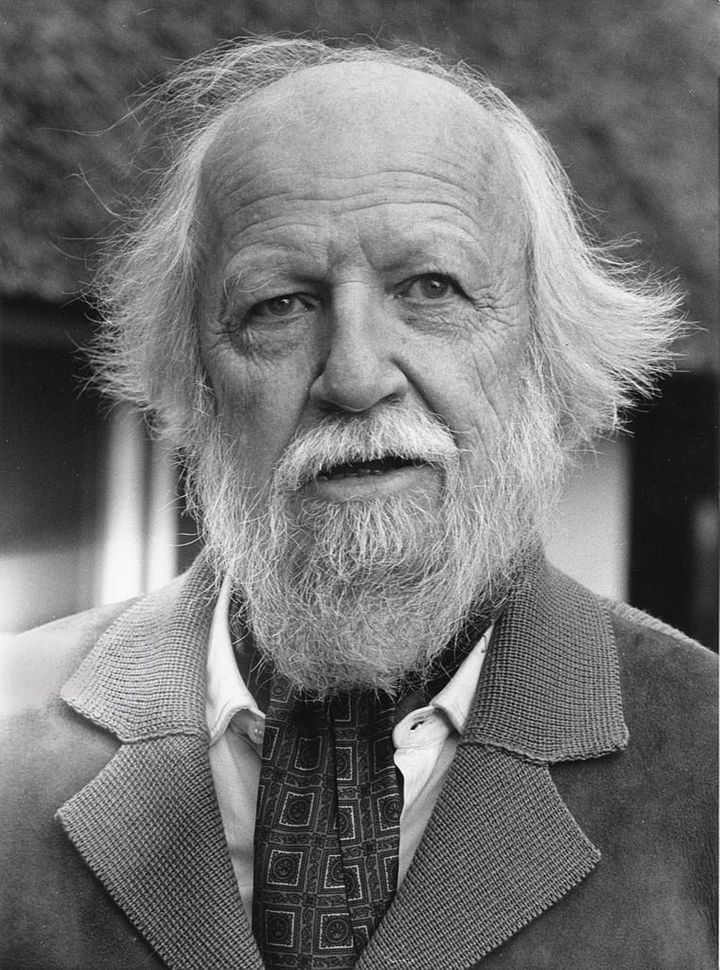"""<a href=""""https://commons.wikimedia.org/wiki/File:William_Golding_1983.jpg"""">William Golding</a>"""
