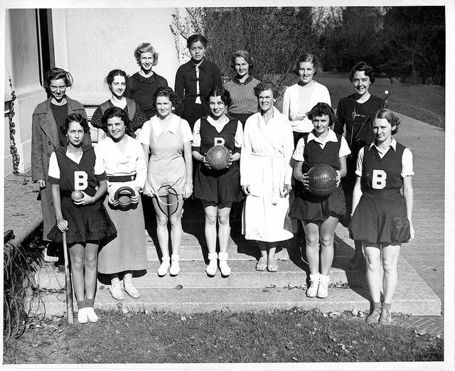 Grace Lee Boggs, back row, center, with the Barnard Athletic Association Board in November 1934.