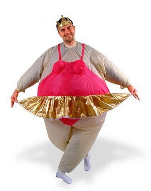 At a time when we're making huge strides around the issues of body image, fat-shaming costumes just set any progress in rever