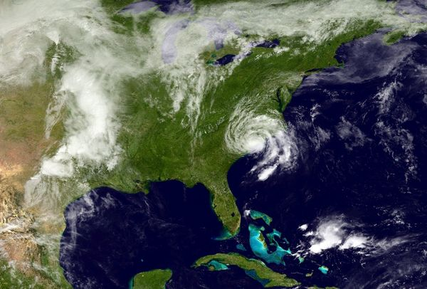 Tropical Storm Ana became the second-earliest tropical or subtropical storm to make landfall in the U.S. when it hit Sou